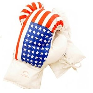 U.S.A. Flag Boxing Gloves 16 oz Last Punch